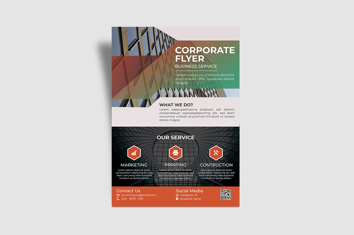 PSD Service Corporate Flyer