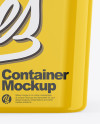 Glossy Container Mockup