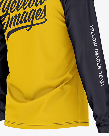 Download Mens Raglan Long Sleeves Jersey Yellowimages