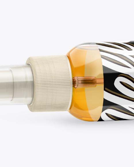 Lying Spray Bottle Mockup