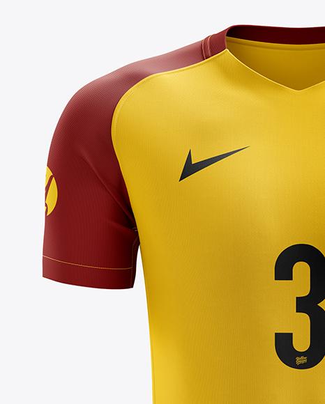 Men's Soccer Kit mockup (Front View)