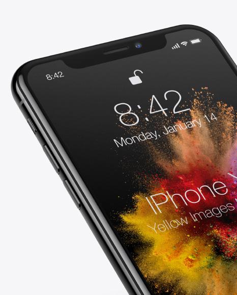 Apple iPhone X Mockup