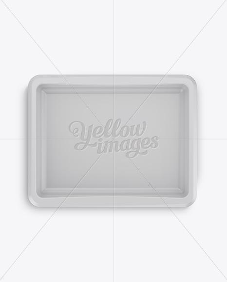 500g Matte Butter Tub Mockup - Front, Top & Side Views