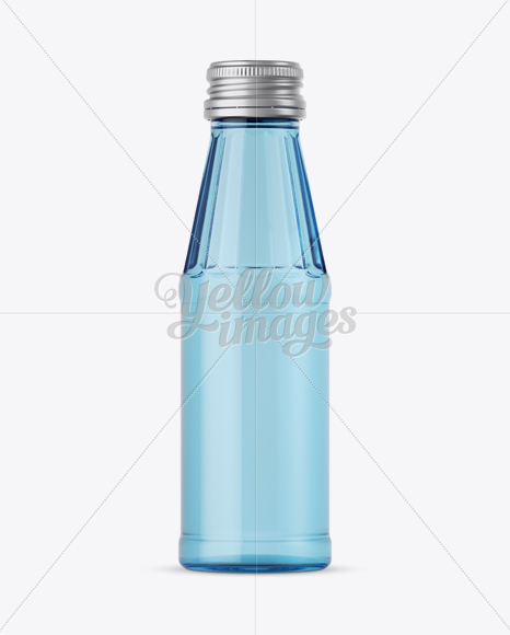 Download 100ml Blue Glass Water Bottle Mockup In Bottle Mockups On Yellow Images Object Mockups PSD Mockup Templates