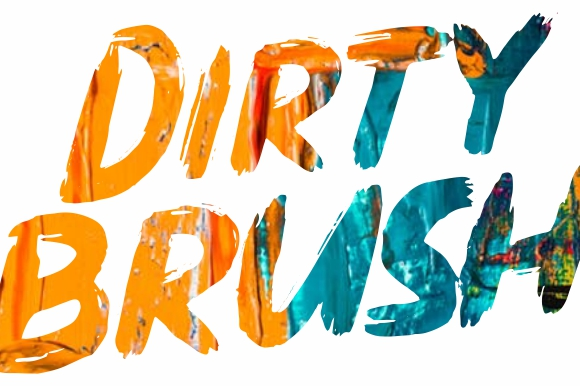 DIRTY BRUSH Fonts