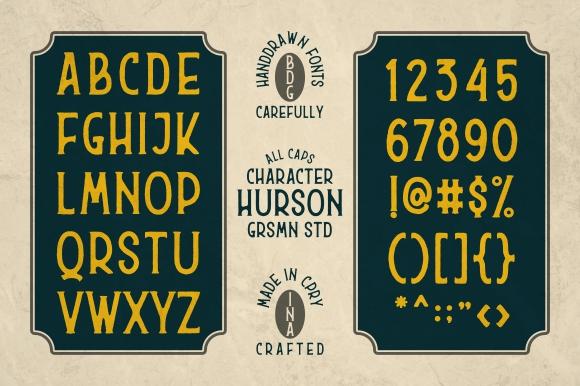 Hurson Typeface