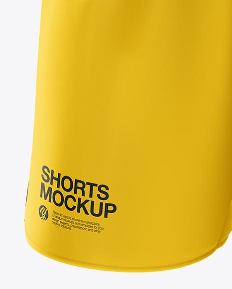Men's Soccer Shorts mockup (Half Side View)