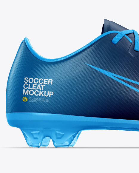 Soccer Cleat mockup (Side View)