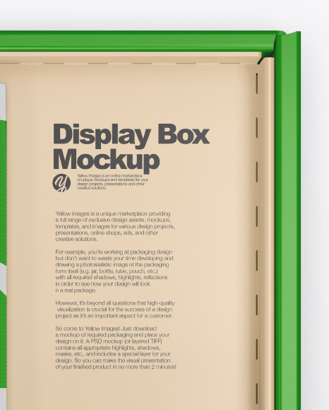 Display Box Mockup