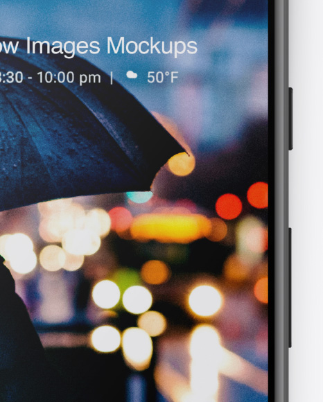 Google Pixel 2 Mockup