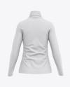 Women's Long Sleeve Full-Zip Jacket - Back View