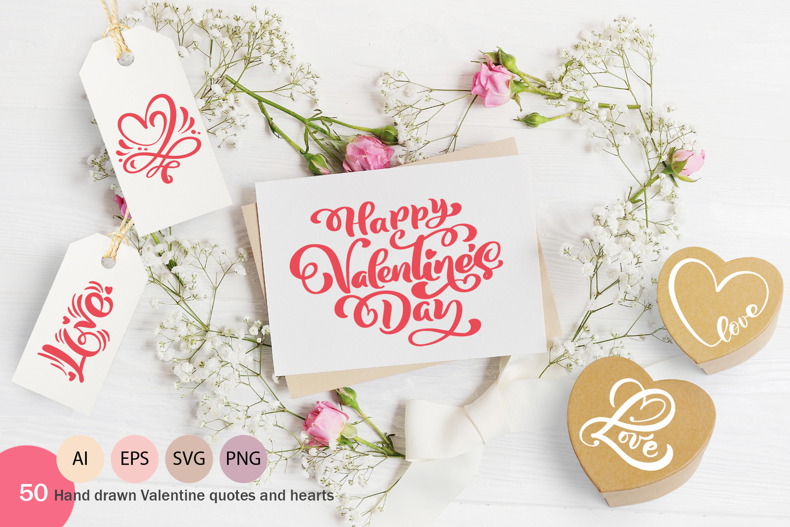 Happy Valentines Day Heart SVG