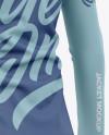 Women's Long Sleeve Full-Zip Jacket - Back Half-Side View