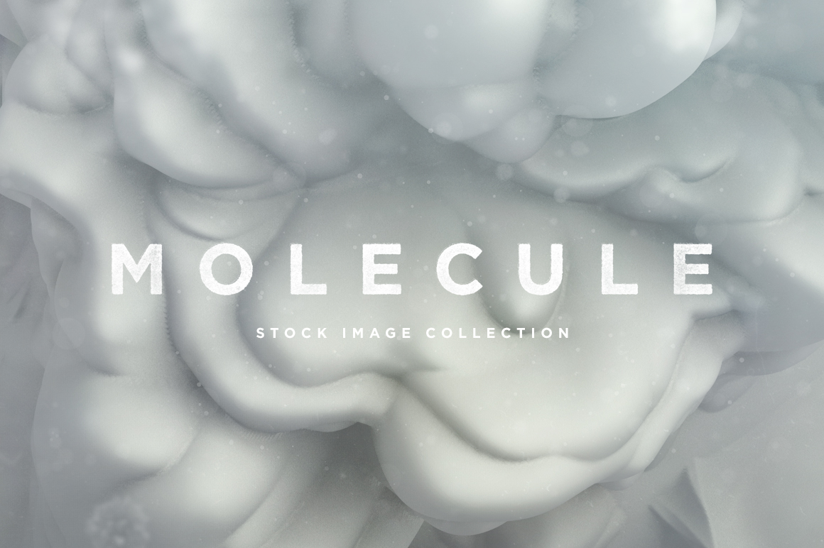 Molecule Abstract Shapes