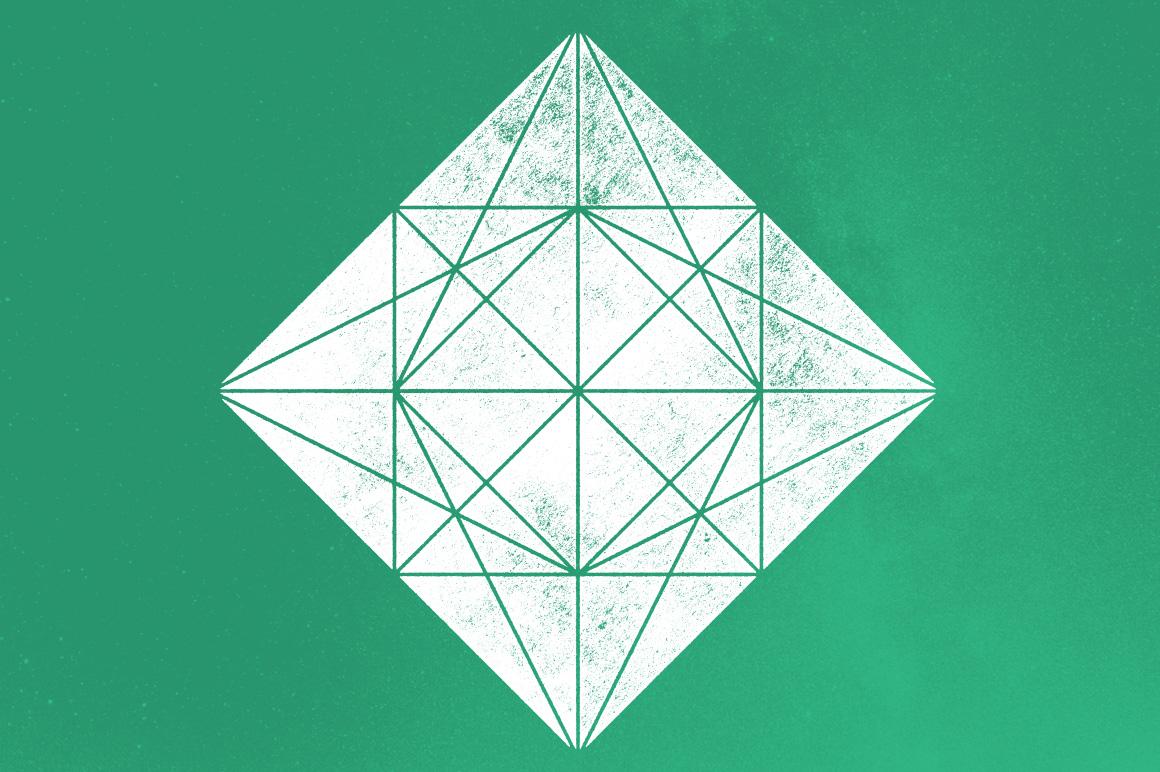 Geometric EPS Vector Shapes