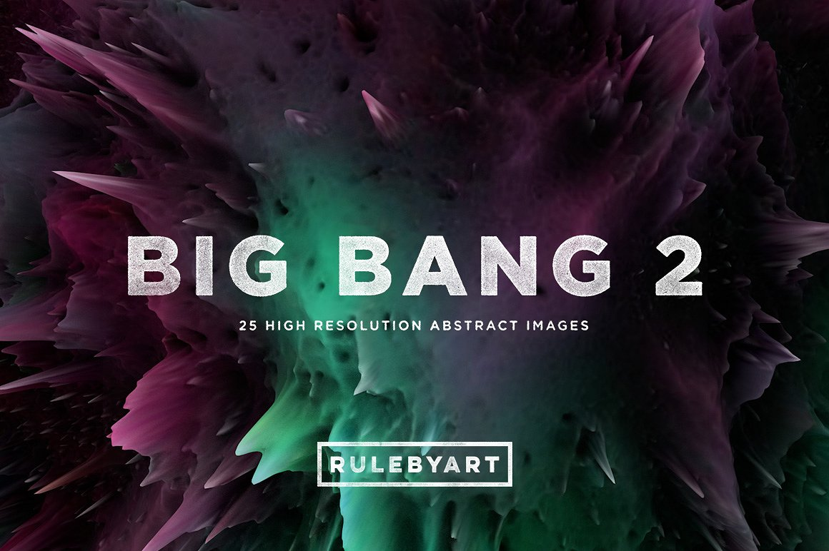 Big Bang 2: 3D Abstract Shapes