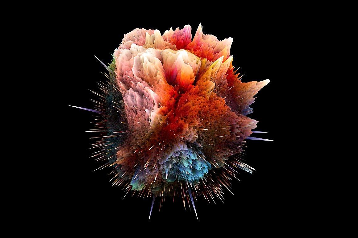 Big Bang 2: 3D Abstract Shapes