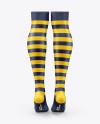 Two Long Socks Mockup