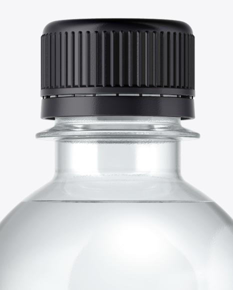 PET Water Bottle Mockup