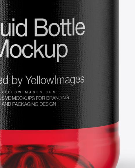 Bottle Label Mockup Free