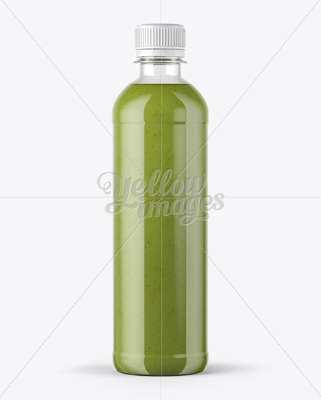 Smoothie Bottle Mockup