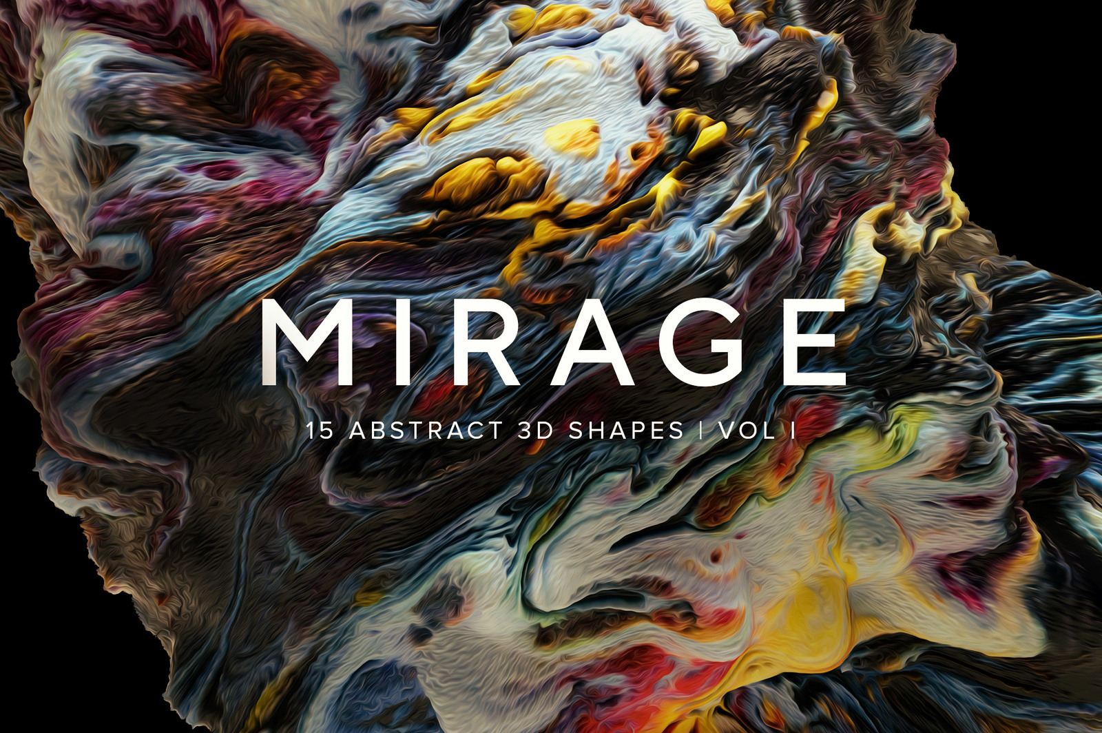 Mirage Vol.1: Abstract 3D Shapes
