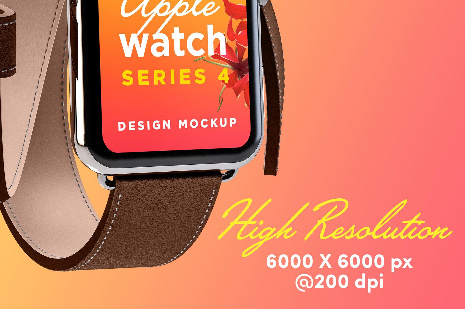 Download Apple Watch Mockup Free PSD - Free PSD Mockup Templates