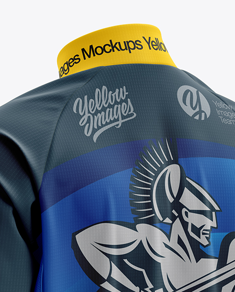Download Mens Cycling Wind Jacket Mockup Front View Yellowimages