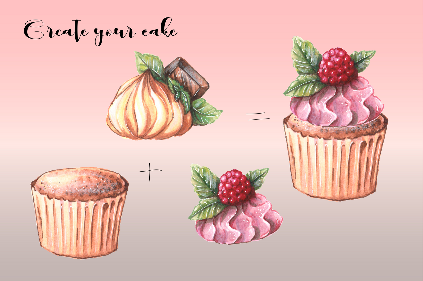 Sweets – clip art