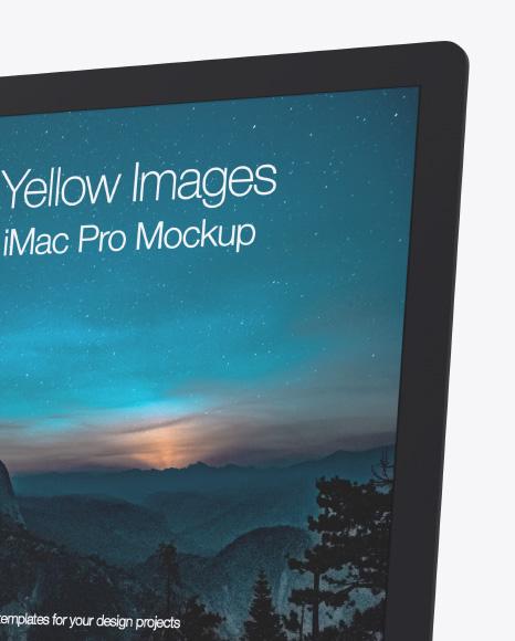 Clay iMac Pro Mockup
