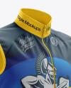 Men's Cycling Wind Vest mockup (Half Side View)