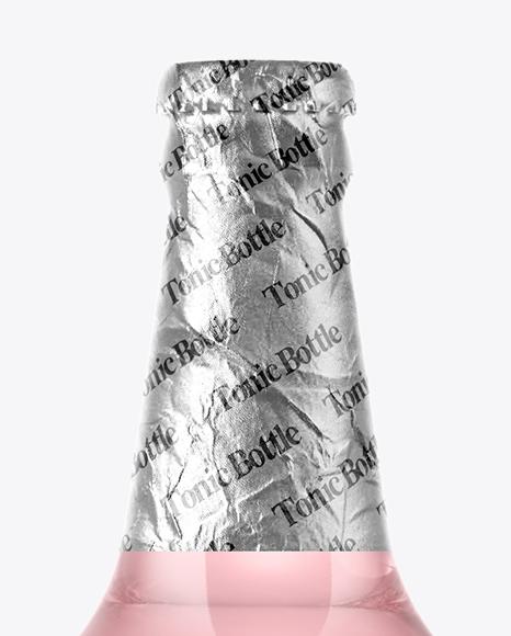 Tonic Water Bottle Mockup