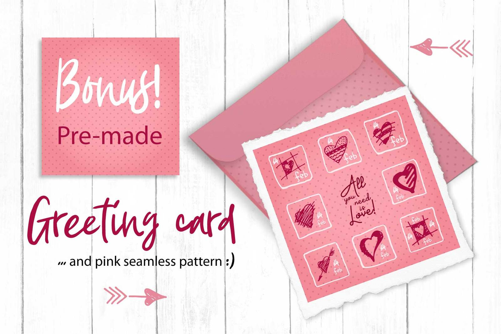 Lovely valentines day set - #3 SVG