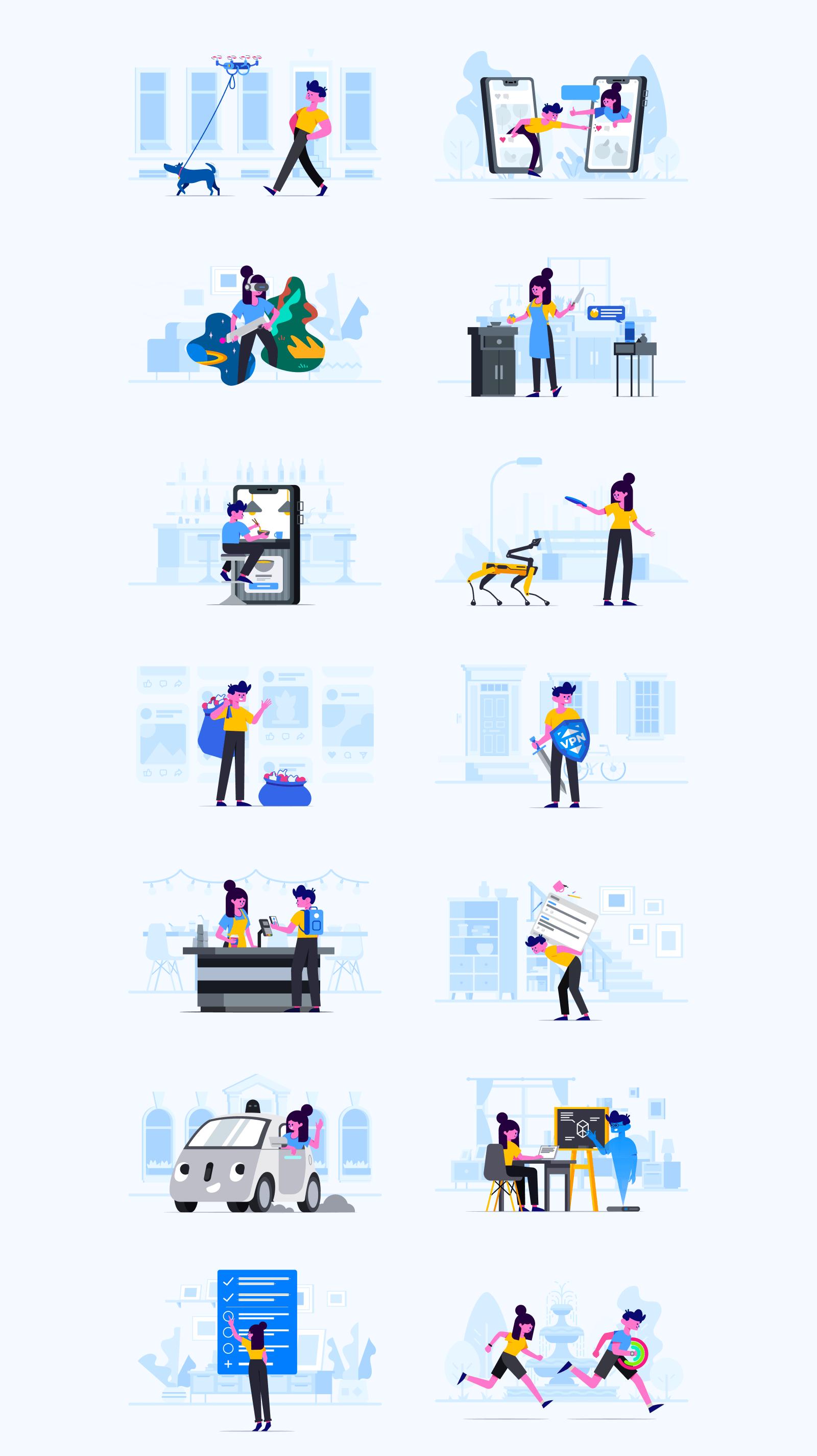 Stubborn Illustrations