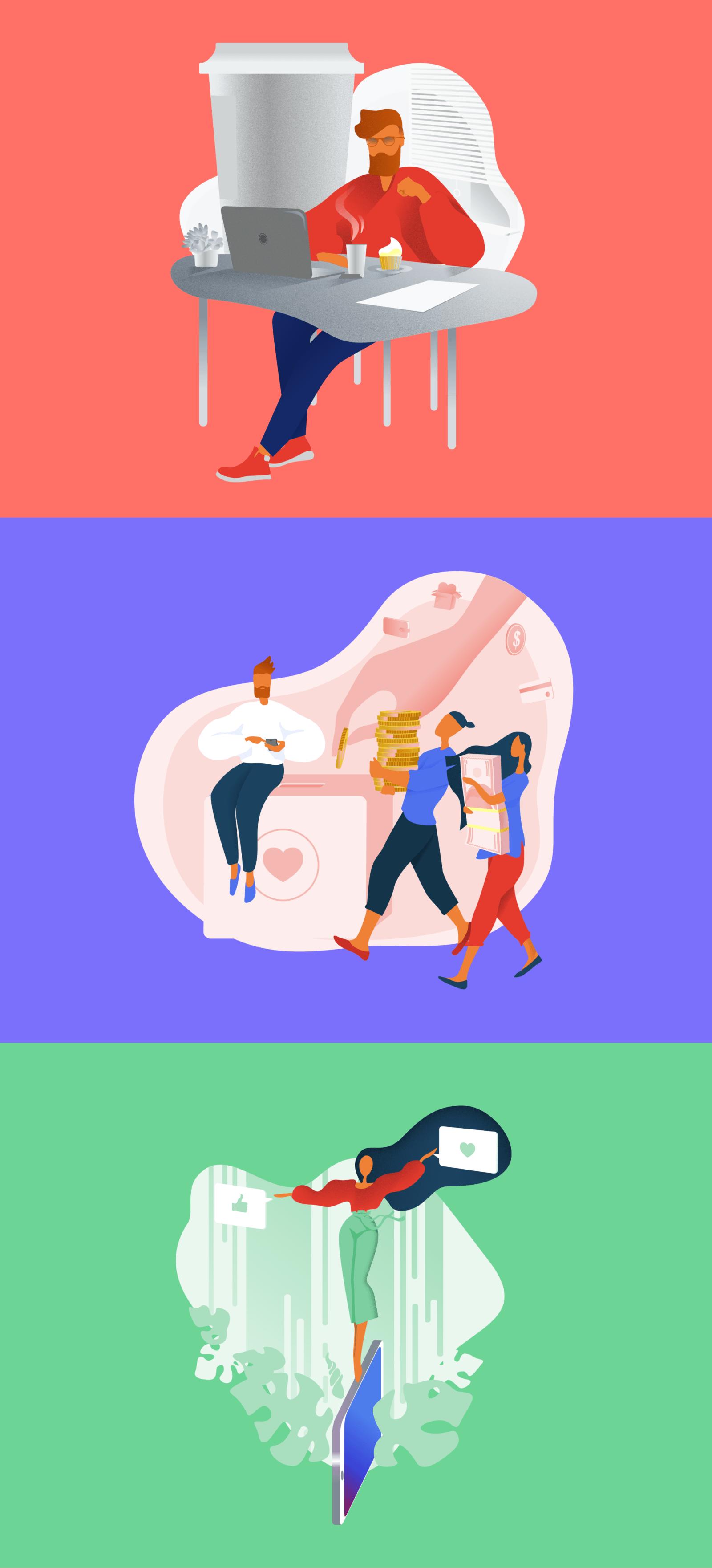 Brave Illustrations