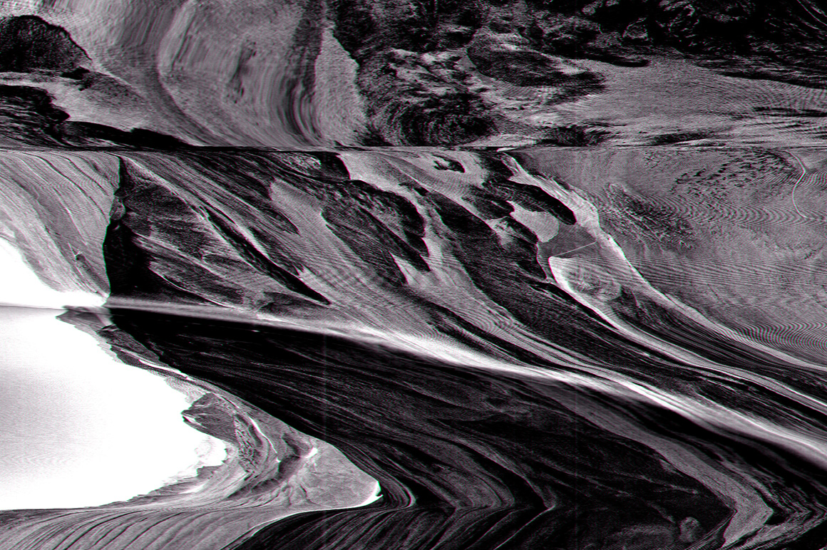 Erosion Video Glitch Distortion Textures