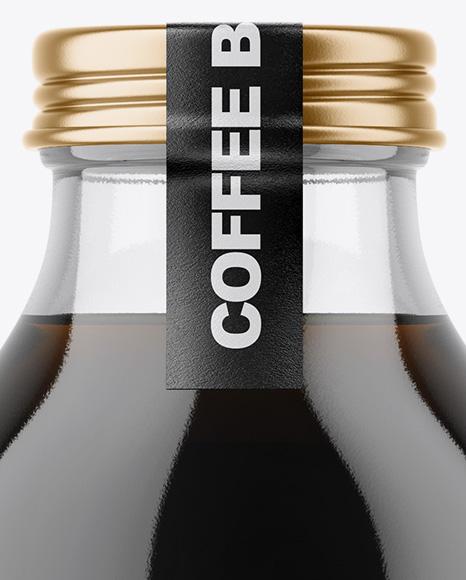 Coffee Bottle Mockup