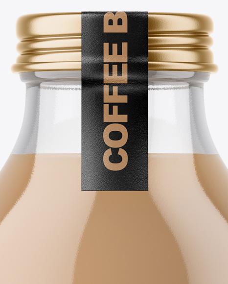 Ice Coffee Bottle Mockup