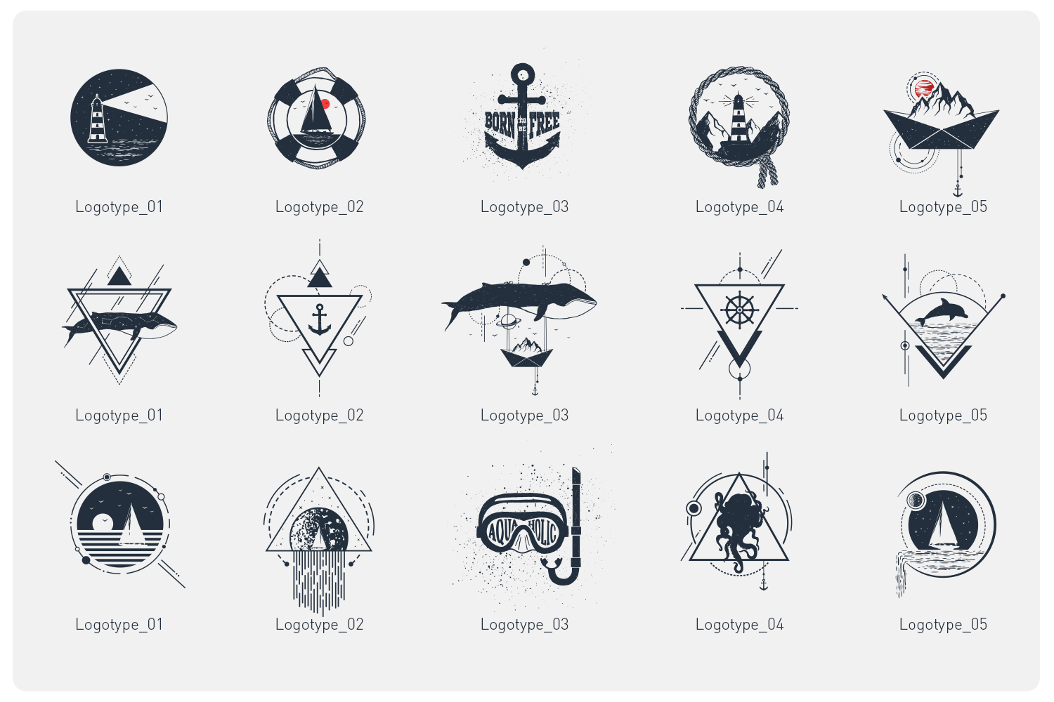 Welcome Aboard. 15 Awesome Logos
