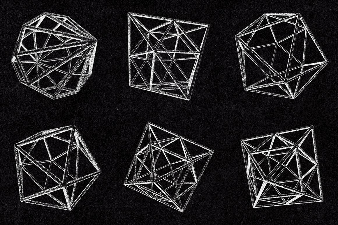 30 Vector Geometric Polygons