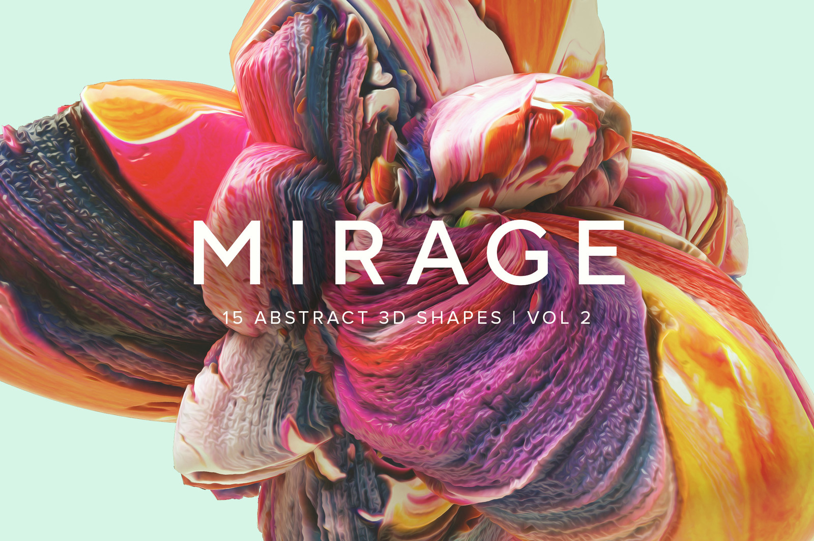 Mirage Vol.2: Abstract 3D Shapes