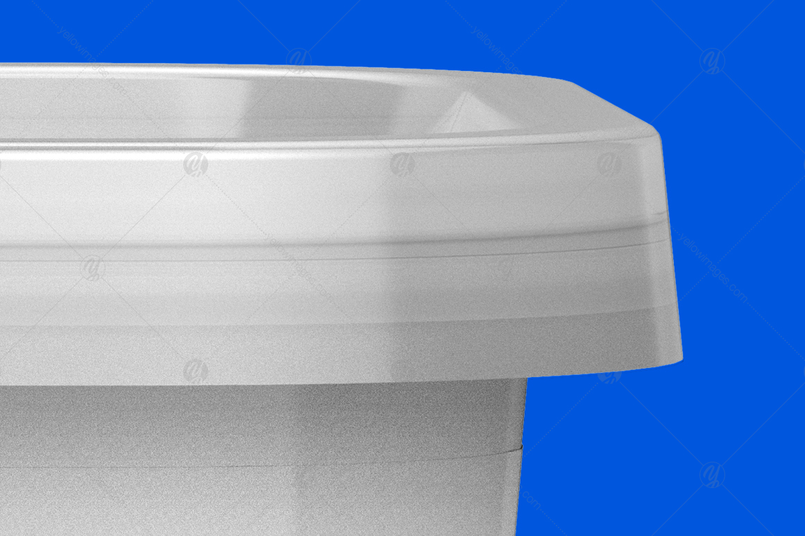 200g Plastic Container Mockup
