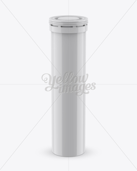 Download Glossy Plastic Effervescent Tablets Tube Mockup Front View In Tube Mockups On Yellow Images Object Mockups Yellowimages Mockups