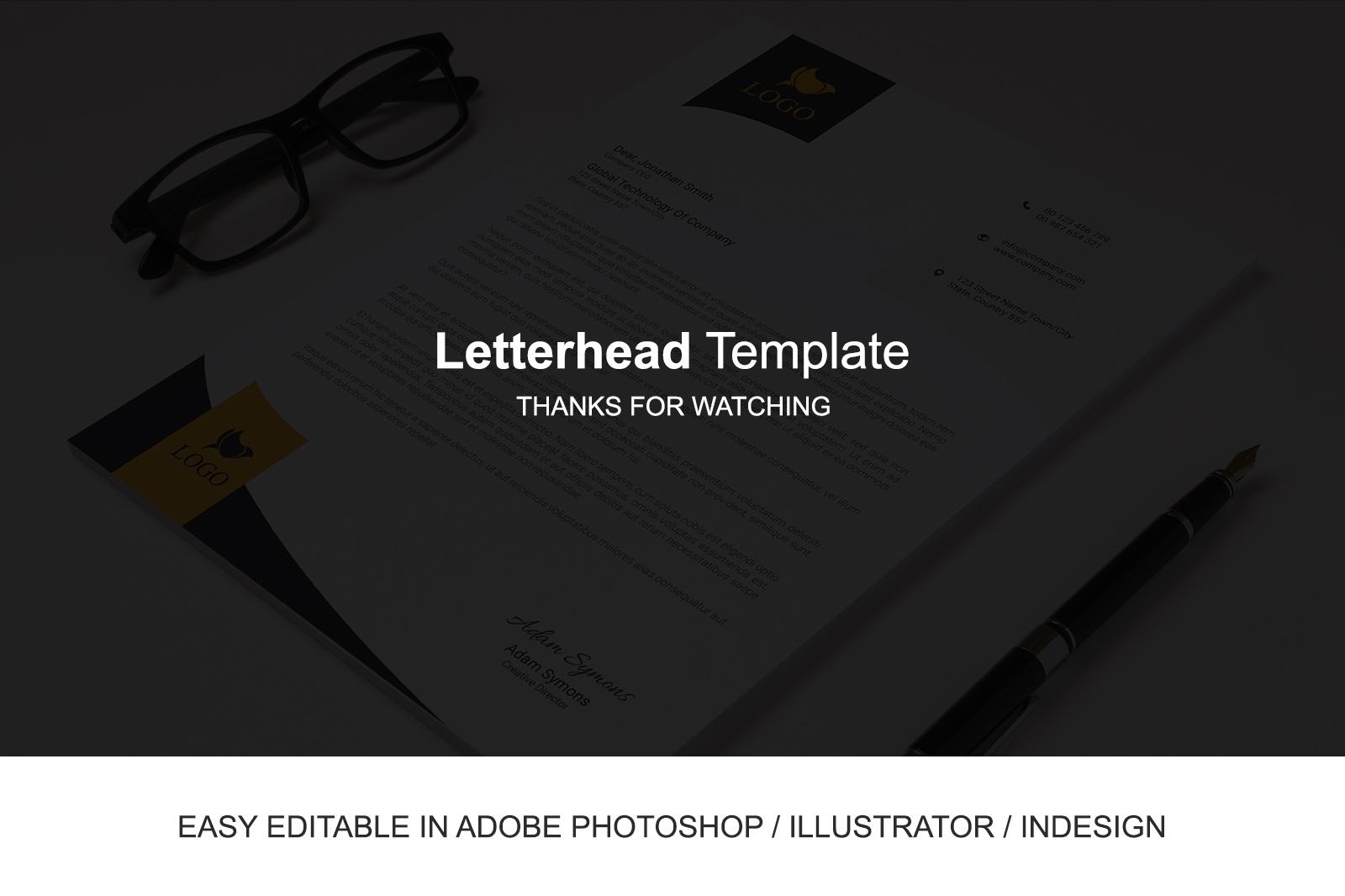 Letterhead Template
