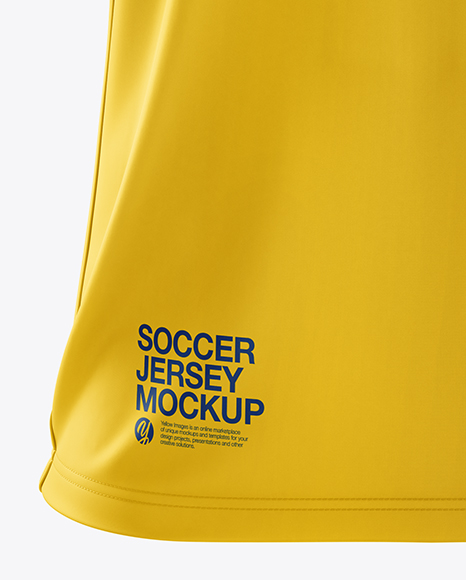 Men's Soccer Jersey mockup (Front View)