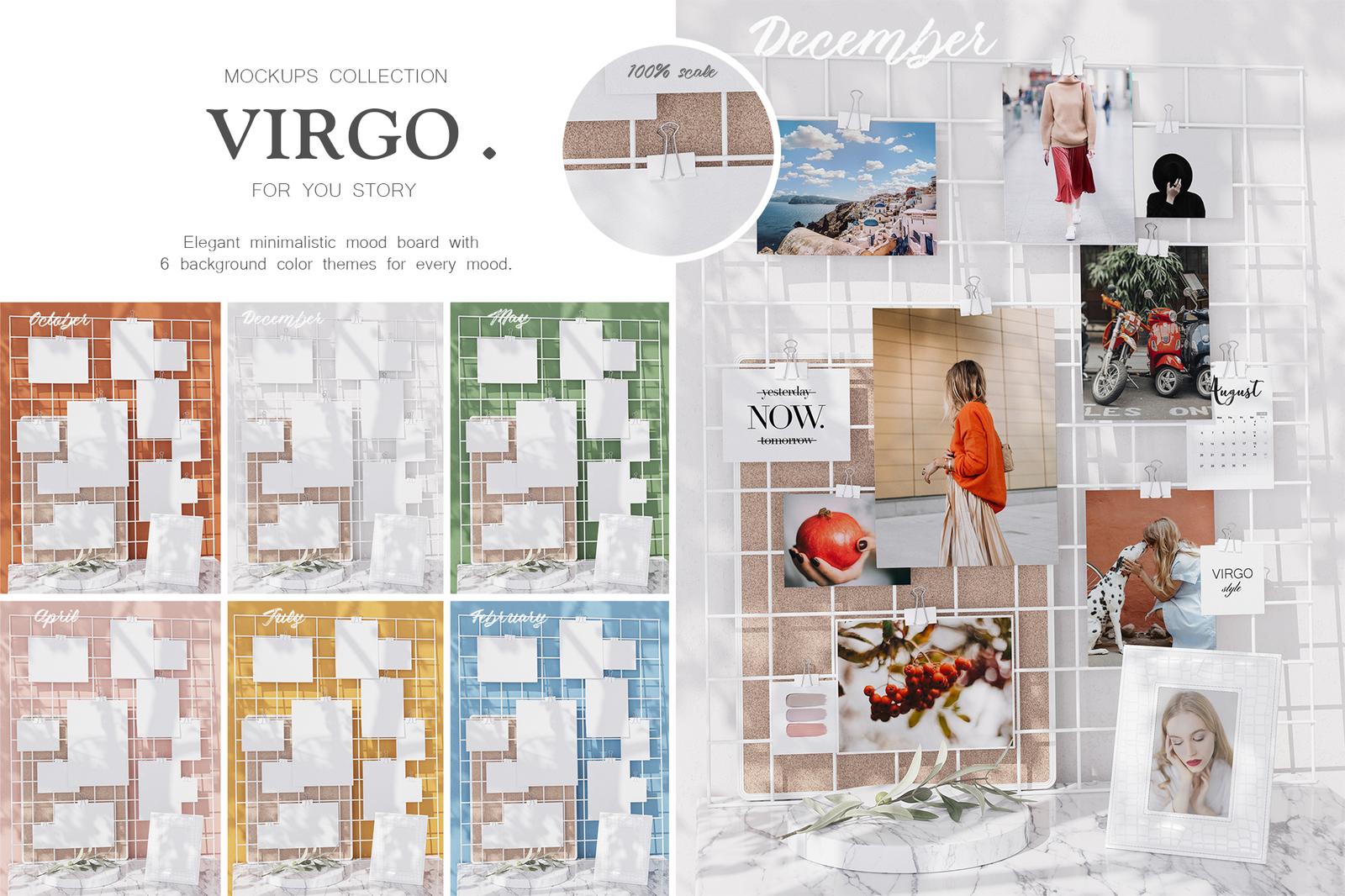 Mockups Collection - Virgo