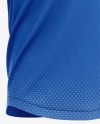 Men's Henley Collar Soccer Jersey Mockup - Front Half-Side View - Football Jersey Soccer T-shirt