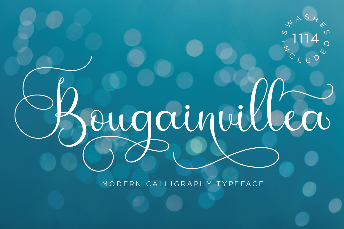 Bougainvillea Script