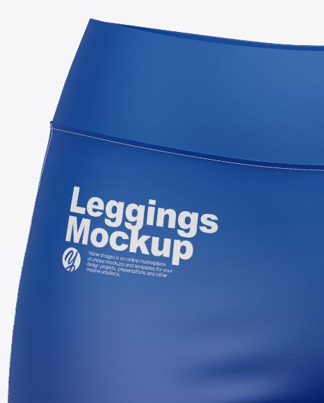 Women's Leggings Mockup