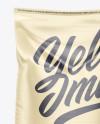 Polypropylene  Bag Mockup